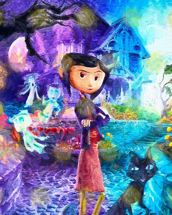 *NEW* Coraline HOUSE Blanket Topper *PREORDER*