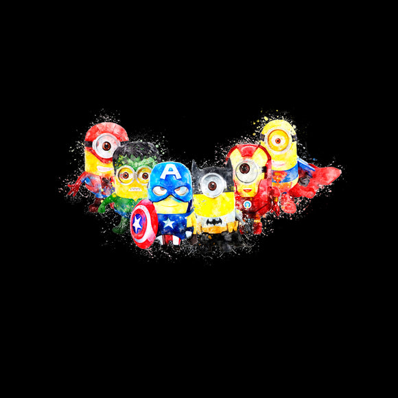 Minion Superheroes Blanket Topper *PREORDER*