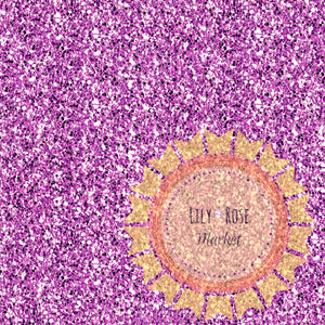 Mermaid Collection Purple Glitter Yardage *PREORDER*
