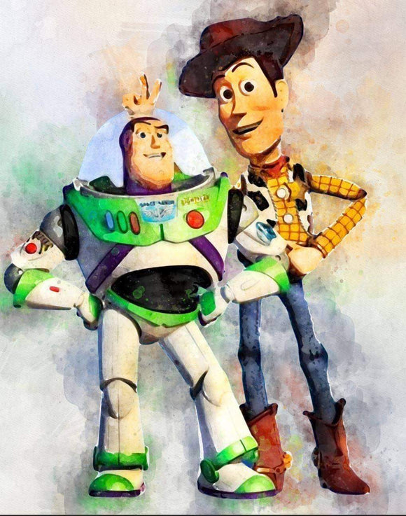 Buzz and Woody Blanket Topper *PREORDER*