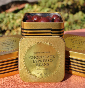 Chocolate Espresso Bean Tin