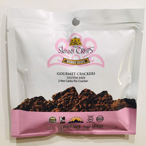Skinny Crisps Brownie Crisps Gourmet Crackers Gluten Free