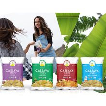 Load image into Gallery viewer, Artisan Tropic CASSAVA STRIPS Sea Salt Gluten Free Chips