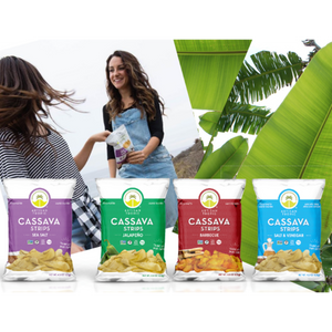 Artisan Tropic CASSAVA STRIPS Sea Salt Gluten Free Chips