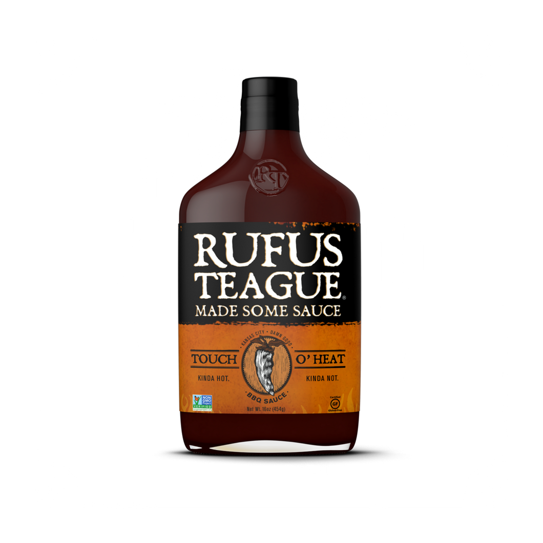 Rufus Teague TOUCH O' HEAT BBQ Sause
