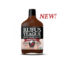 Load image into Gallery viewer, Rufus Teague SMOKE 'N CHIPOTLE Sugar Free BBQ Sause