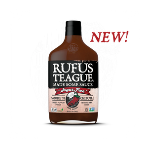 Rufus Teague SMOKE 'N CHIPOTLE Sugar Free BBQ Sause