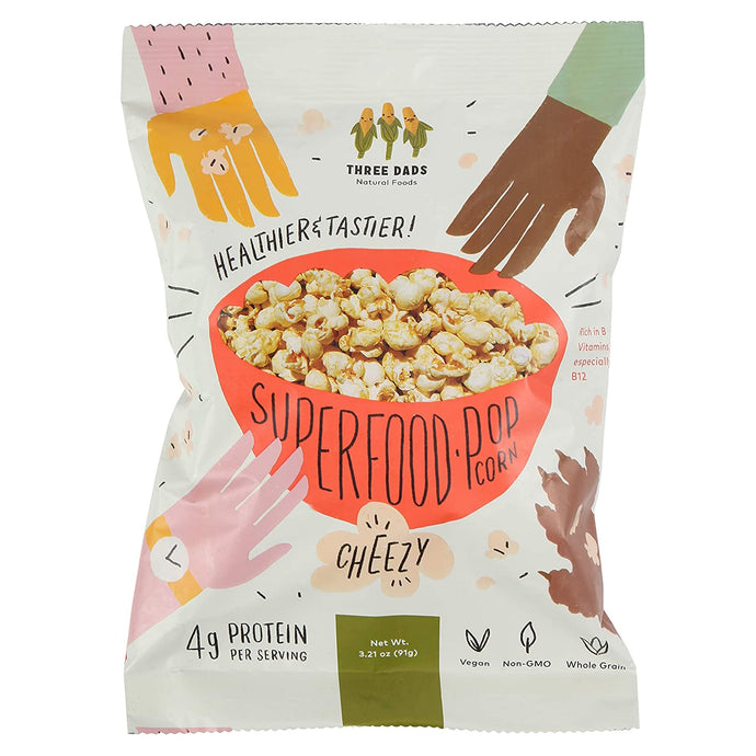 Three Dads Natural Foods Superfood Popcorn