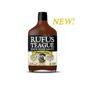 Rufus Teague SLIM N' SWEET Sugar Free BBQ Sause