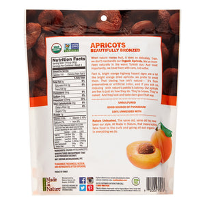 Made In Nature Organic Dried Fruit SuperSnacks, In The Buff Apricots, 6 Oz