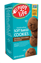 Load image into Gallery viewer, Enjoy Life Foods Gluten Free Soft Baked Cookies, Double Chocolate Brownie, 6 Oz