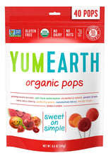 Load image into Gallery viewer, YumEarth Organic Assorted Flavor Lollipops