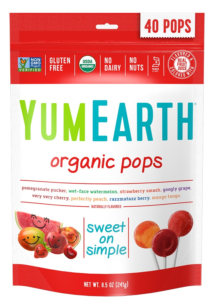 YumEarth Organic Assorted Flavor Lollipops