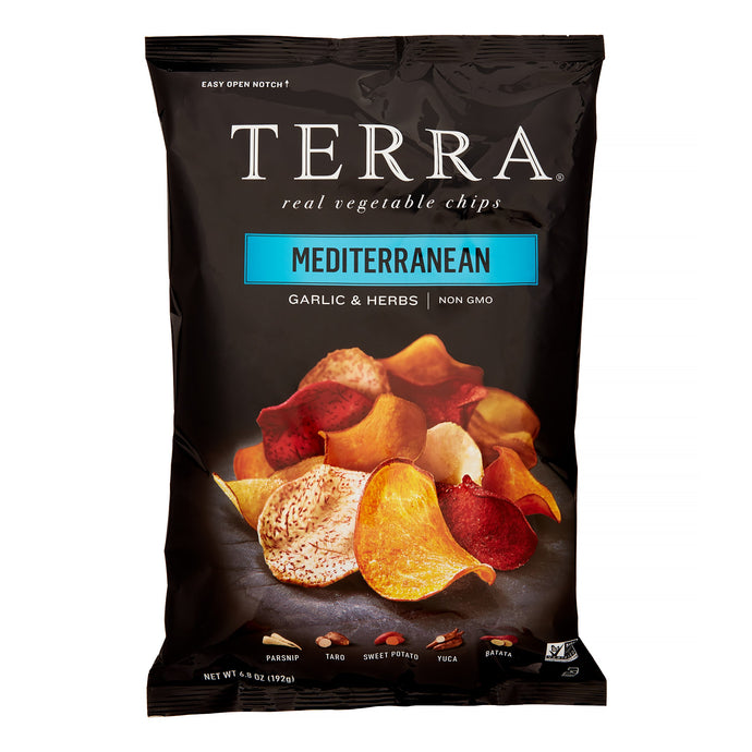 Terra Exotic Vegetable Chips, Mediterranean, 6.8 Oz