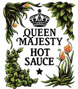 Queen Majesty Jalapeño Tequila & Lime Hot Sauce 5oz.