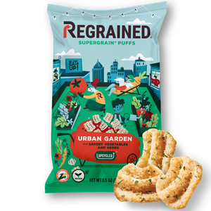 ReGrained SuperGrain+ Puff, Urban Garden, 3.5 Ounce