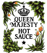 Load image into Gallery viewer, Queen Majesty Scotch Bonnet & Ginger Hot Sauce 5oz.