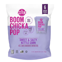 Load image into Gallery viewer, Angie's BOOMCHICKAPOP Kettle Corn, Sweet & Salty, 1 Oz x 6