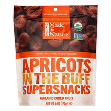 Load image into Gallery viewer, Made In Nature Organic Dried Fruit SuperSnacks, In The Buff Apricots, 6 Oz