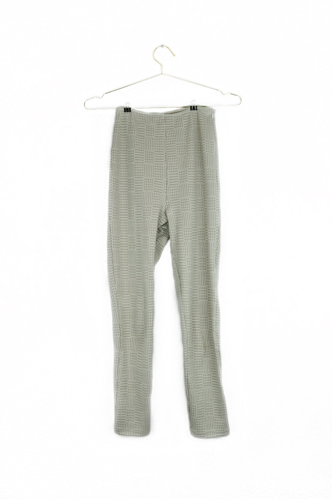 High Waisted Geometric Pant