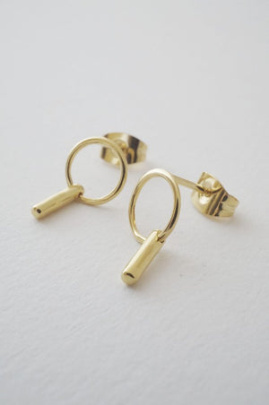 Loop Bar Earrings