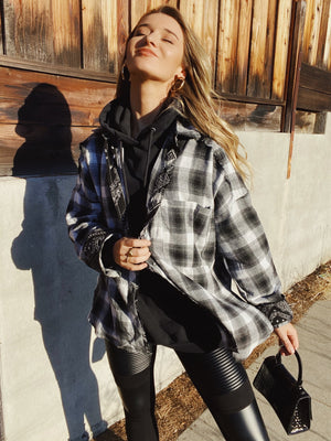 Bandana Plaid Shirt