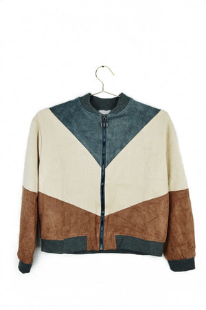 Colorblock Bomber