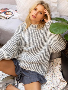 Oversized Knit Sweater
