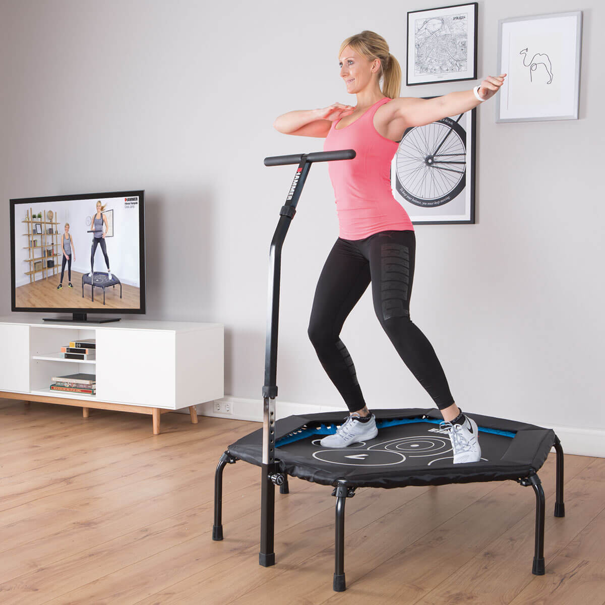 Image result for trampoline exercise
