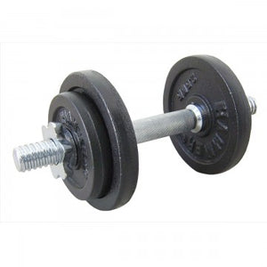 FINNLO by HAMMER 10kg Dumbbell Set, Iron (30mm)