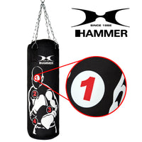HAMMER BOXING Punching Bag Home Fit Sparring Pro