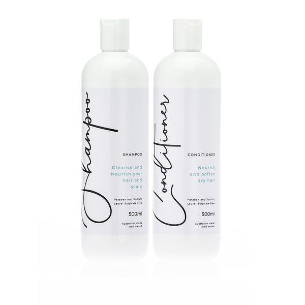 Byerin Massage Shampoo and Conditioner Pack