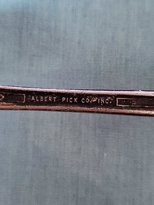 Vintage Albert Pick Co. Inc. Silver Seafood/Oyster Fork - MiscellaneousByDawn