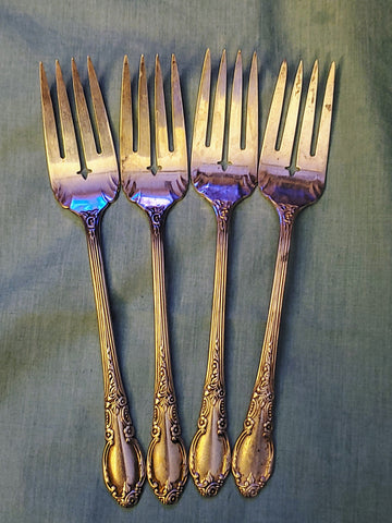 Salad Fork Enchantment-Londontown (Silverplate, 1952) by Oneida Silver - MiscellaneousByDawn