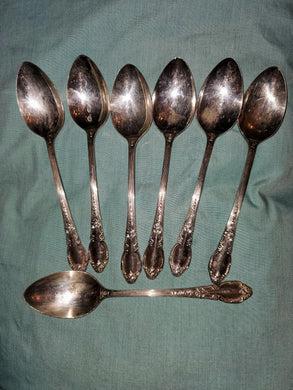 Place/Oval Soup Spoon Enchantment-Londontown (Silverplate, 1952) by Oneida Silver - MiscellaneousByDawn