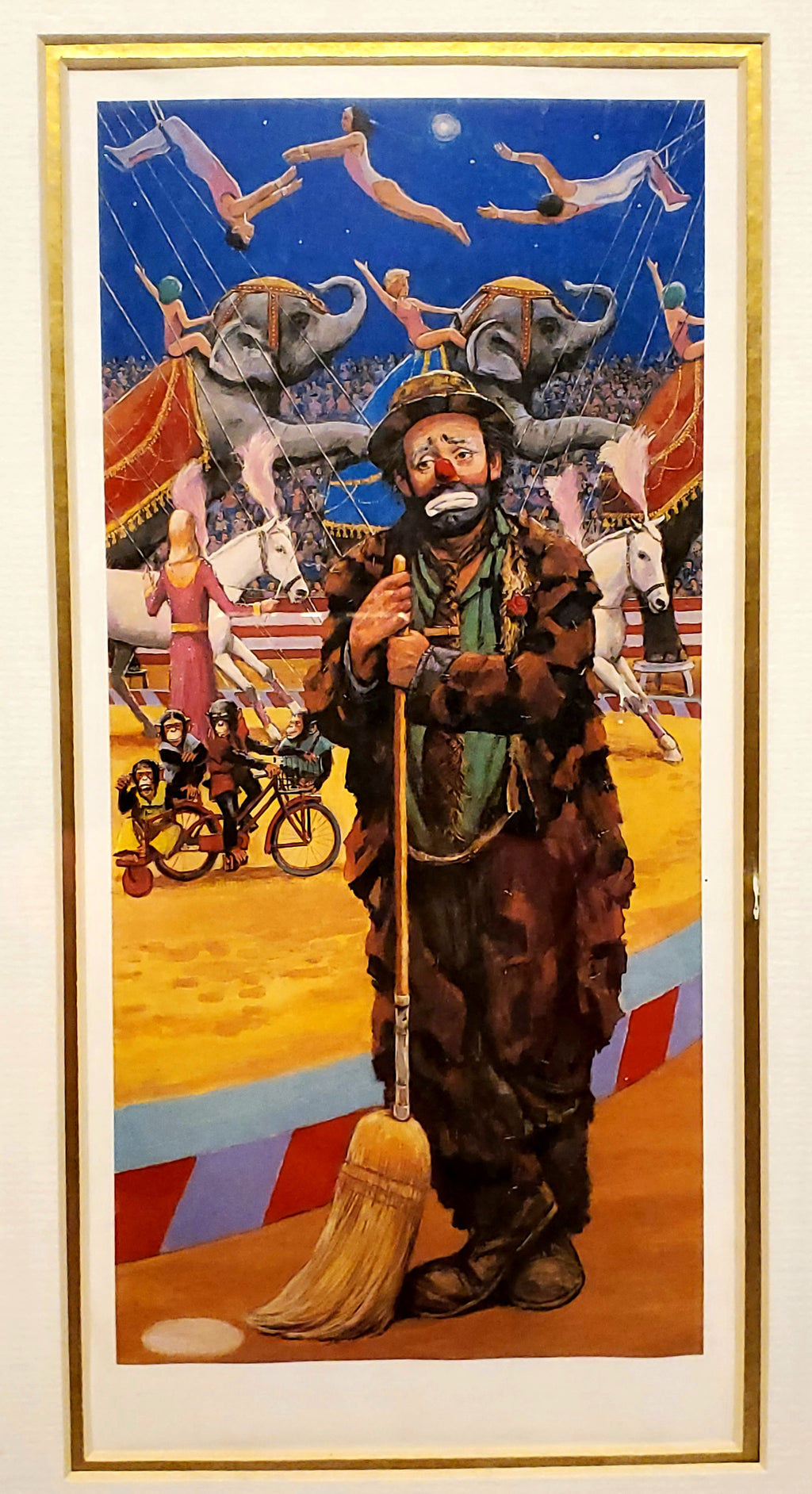 Emmett Kelly Autographed Lithograph - MiscellaneousByDawn
