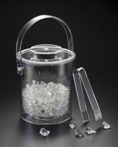 3 qt. Ice Bucket w/ Tongs