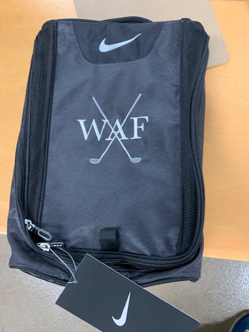 Custom Initials Nike Golf Shoe Bag