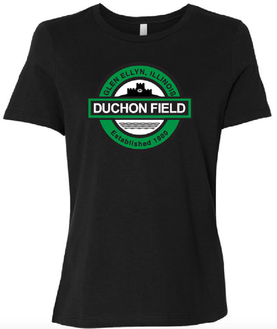 Ladies Duchon Field with Castle T-Shirt