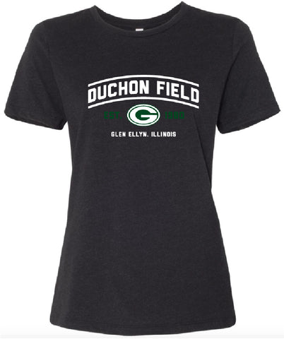 "Duchon Field with ""G"" Logo Ladies T-Shirt"