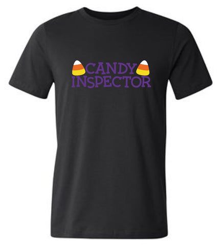Candy Inspector Halloween T-Shirt