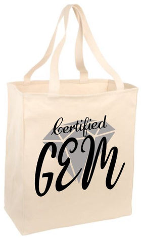 Certified Gem Tote Bag
