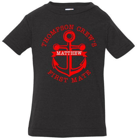 First Mate Baby Jersey Tee