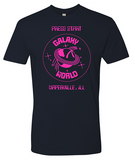 Naperville Press Start Galaxy World Crew T-Shirt
