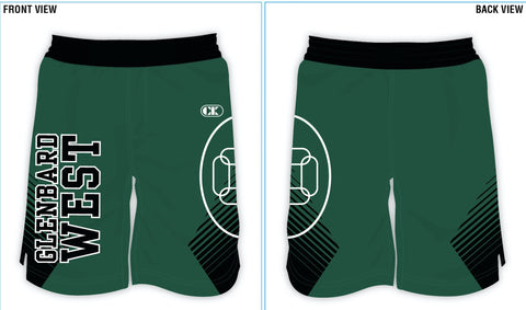 Competition Wrestling Shorts