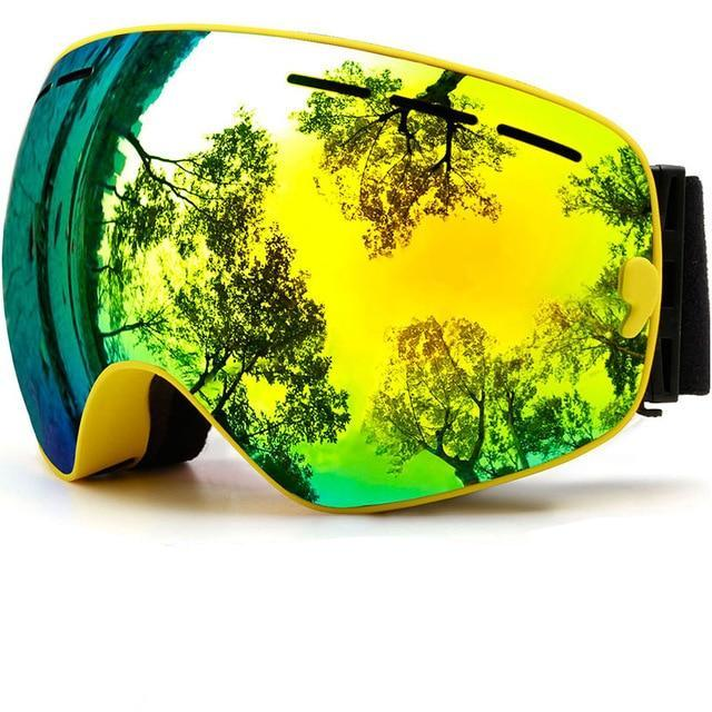 Snowboard/Ski Goggle with Anti-fog UV Protection