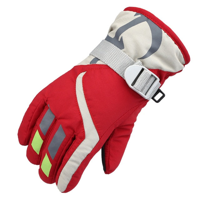 Boys/Girls Warm Ski Winter Gloves