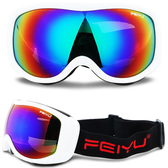 Skiing Goggles UV400 Anti-fog