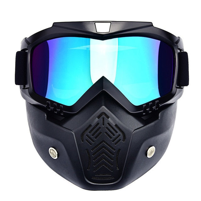 Men Ski Snowboard Mask Windproof with Mouth Filter