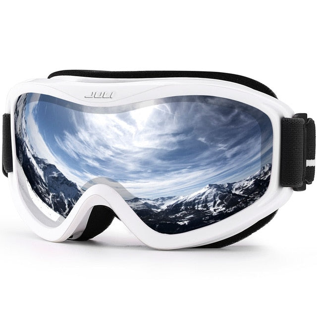 Professional ski goggles double layers lens anti-fog